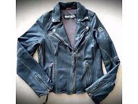 Ladies Style - Black Biker Jacket - Freaky Nation Brand