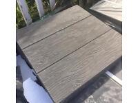 Paving slabs wood effect 40x40cms