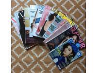 Magazine back issues x 11 - FREE!