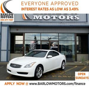 2009 Infiniti G37X Premium**AMVIC INSPECTION & CARPOOF PROVIDED!
