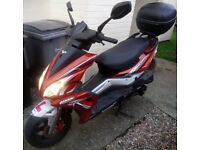 Lexmoto Matador 125 - Low Mileage, 2 Keys, MOT due 11/2018, Top box with 2 Keys, Learner Legal