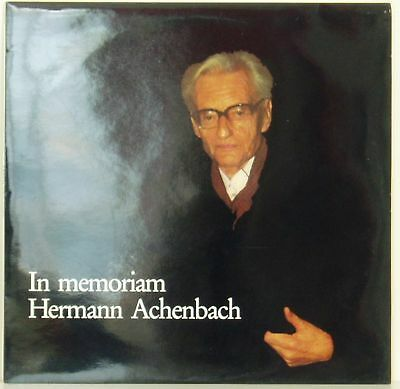LP In Memorian Hermann Achenbach Michael Komma Bach...seltene Privatpressung