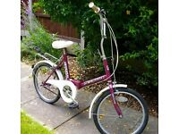 Lovely Vintage Fold-up Cycle