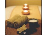 Full body massage with healing hands
