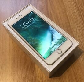 Gold Iphone 6 Plus 128GB - GOLD, UNLOCKED (Complete with Box and charger)