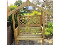Lichfield Garden Arbour. New. Ready Built. PICK UP TODAY.