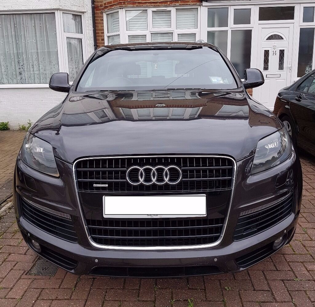 AUDI Q7 S LINE 3.0 TDI TIPTRONIC QUATTRO 2007 LEATHER AND SUADE SEATS 7 SEATER