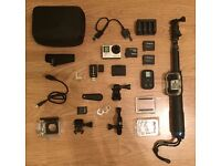 GoPro Hero Silver 4 With Accessories