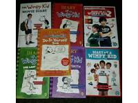 diary of a wimpy kid DVDS and books