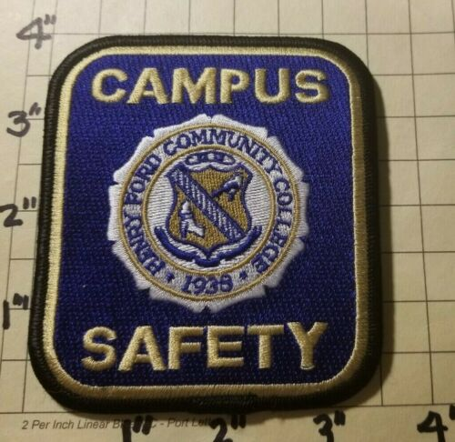 Henry Ford Community College (Dearborn, MI) Campus Safety Patch      ***NEW***