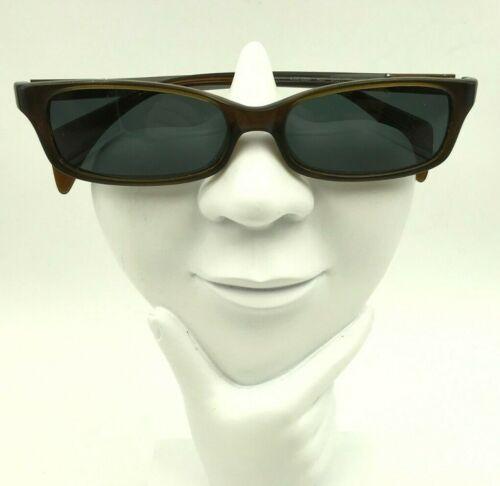 Vintage Vanni 2220 Brown Gray Oval Sunglasses Eyeglasses Frames Italy