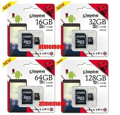 Kingston 16GB 32GB 64GB 128GB Micro SD SDHC SDXC lot UHS-I Class10 Memory Card