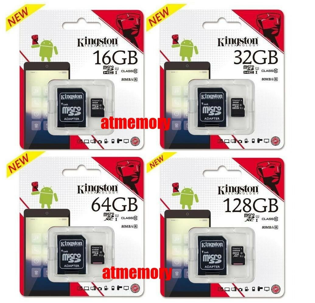 MICRO SD 64GB 32GB 16GB MEMORY CARD