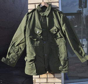Canadian-Forces-Mark-II-OG-107-GS-3-Season-Combat-Jacket-Coat-7046-Large-Regular