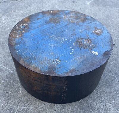 6 34 Diameter 4140 Annealed Steel Round Bar Stock - 6.75 X 3.125 Length