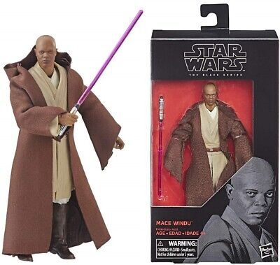 Star Wars The Black Series 6 Inch Action Figure - Mace Windu - NEW & BOXED!