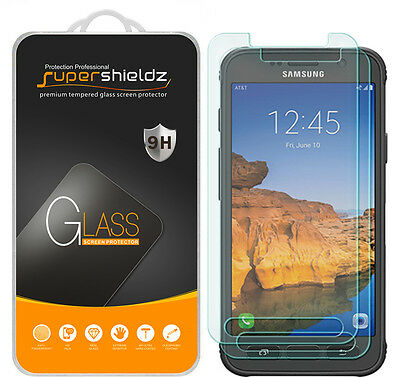 2x Supershieldz® Tempered Beaker Screen Protector For Samsung Galaxy S7 Active