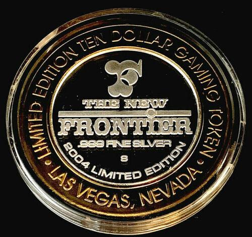 .999 $10 Silver Strike •The New Frontier • Las Vegas • Desert Bighorn
