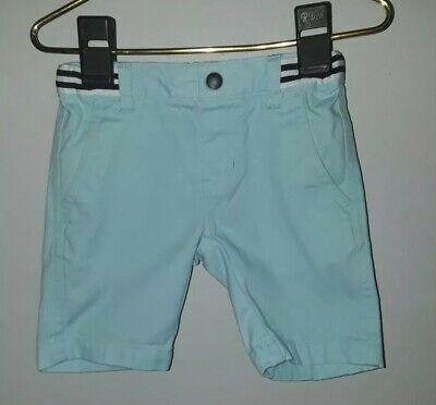 Nautica Boys Shorts Size 2T Light Blue Bermuda