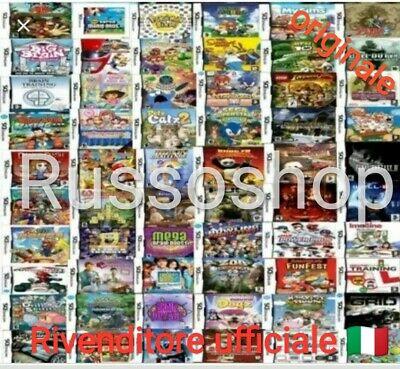 300/500/1000 GIOCHI PER BAMBINI NINTENDO DS- NEW 2DS XL-3DS XL- R4 GOLD PRO 2020