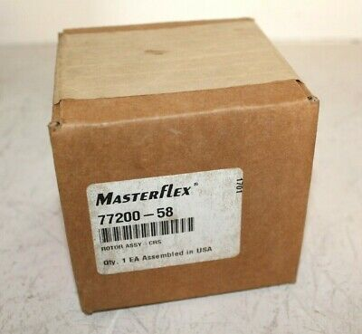Cole Parmer Masterflex Rotor Assembly - 77200-58 - Ls Easy-load Ii Pump Heads