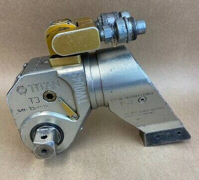 Titan T-3 Hydraulic Torque Wrench 1 Drive Calibrated Hytorc Mxt  20304