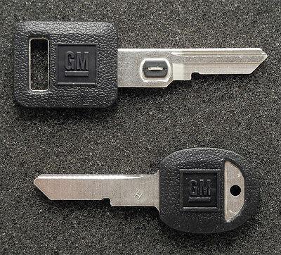 GM Buick Cadillac Chevrolet Pontiac OEM #5 Vats Code & Secondary H Key Blank