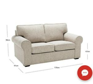 2 seater sofa looks new- fantastic furniture couch fabric ...
