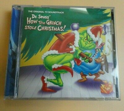 Original TV Soundtrack Dr. Seuss How the Grinch Stole Christmas CD Boris Karloff ()