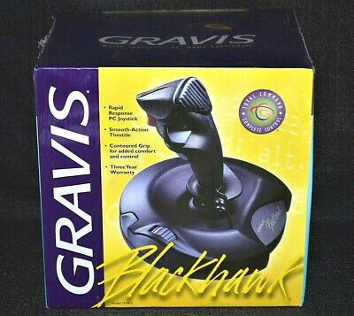 Gravis Blackhawk Joystick Computer PC Gaming Gear Retro Vintage New