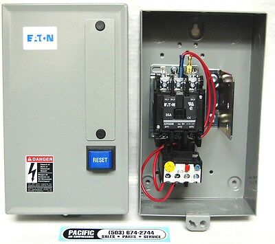 Eaton Air Compressor Magnetic Starter 7.5 Hp 230 Volt Single Phase B27cgf40b040