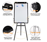 Tripod Whiteboard Magnetic Standing Flip chart Easel Lightweight Adjustable