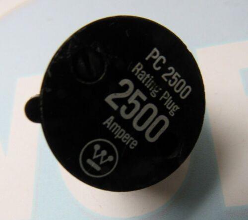 WESTINGHOUSE PC2500 2500A RATING PLUG