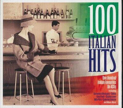 SEALED NEW CD Caterina Valente, Sophia Loren, Dalida, Etc. - 100 Italian Hits