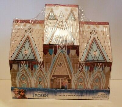 DISNEY FROZEN ARENDELLE LG CASTLE CHRISTMAS COUNTDOWN YOU FILL ADVENT CALENDAR