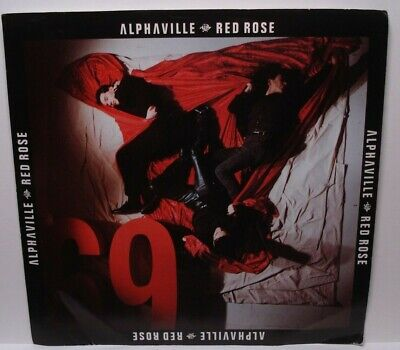ALPHAVILLE RED ROSE PROMO (NM) 7-89292 45 RPM VINYL RECORD