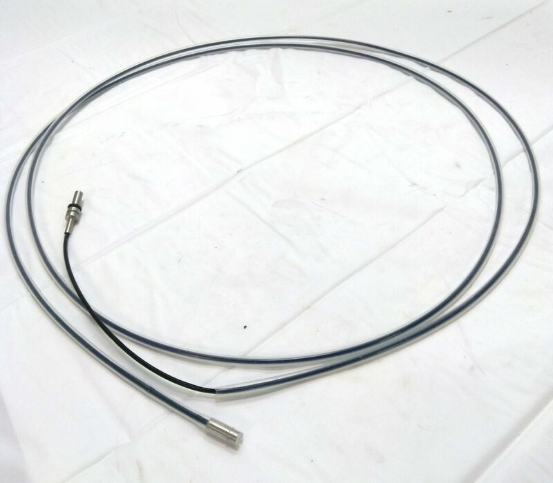 """Banner PIE46THTMNL Fiber Optic Cable, 2m Long, 1mm Core, Opposed Mode, Dia 3/16"""""""