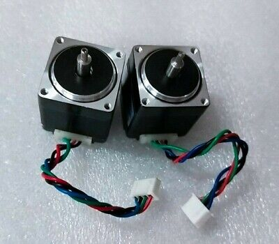 2pcs Nema11 Stepper Motor 1.8degree 6n.cm Min 0.67a 4wires 11hs3406l14-x1 Cnc