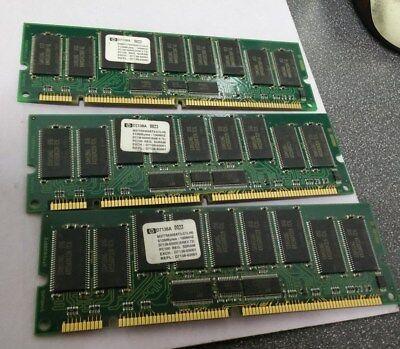 Lot of 3 HP D7138A  512MB 100MHz ECC SDRAM Server Memory Modules - FREE SHIP! 512mb Ecc Module Server