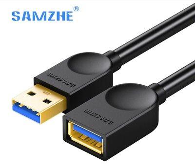 CABLE ALARGADOR USB 3.0 (Macho - A hembra) de 0,5 metros -...