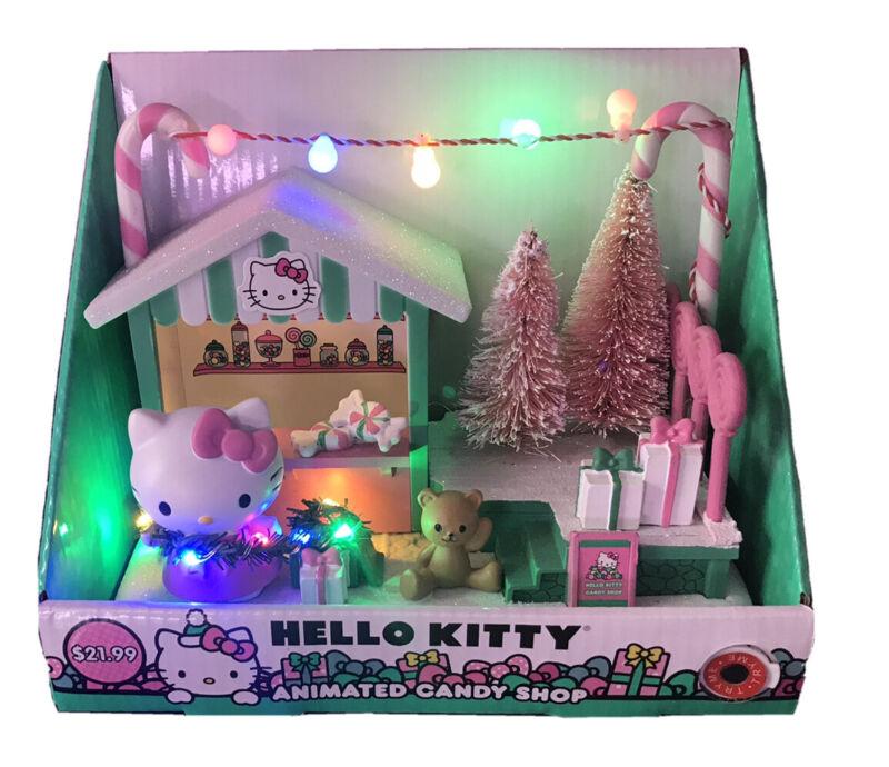 NIB Hello Kitty Animated Candy Shop Christmas Holiday Sanrio CVS Exclusive