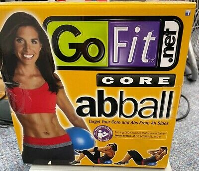 GO FIT CORE AB BALL 20cm GoFit AbBall With Training DVD