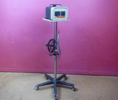 Quadrilite 6000 Fiberoptic 150w Surgical Headlight Light Source Stand Complete
