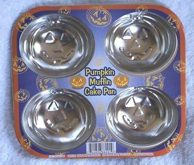 Halloween 4 Pumpkin Backform Motivbackform Kuchenform Kürbiskopf Metal cupcake