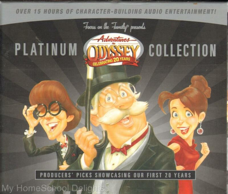 NEW Adventures in Odyssey PLATINUM COLLECTION 12 CD Audio SET Christian Values