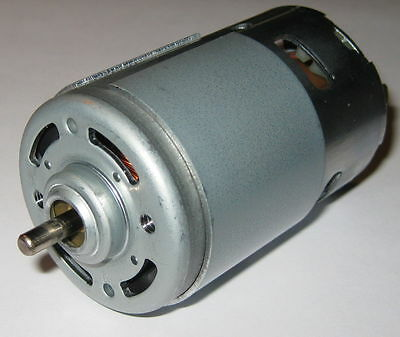 Johnson Generator - 24v Dc Motor Generator - 72 Watts - 8000 Rpm - 65 Mm Long