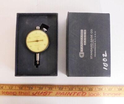 Vintage Standard Gauge Co Machinist Tool Maker Lathe Dial Indicator 510000.