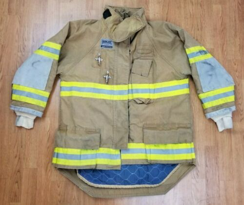 Morning Pride Ranger Firefighter Bunker Turnout Jacket w/ DRD 46 x 31
