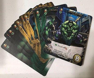 Upper Deck Marvel Hulk Legendary Playable 3D 14 card complete Set Lot