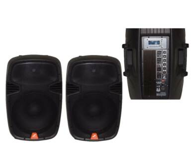powered speaker hire DJ's Hire 2 x 15 for only $60.00 Hire Campbelltown Campbelltown Area Preview
